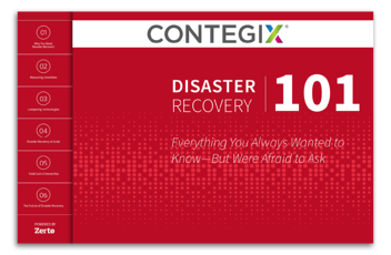 Disaster Recovery 101 Cover