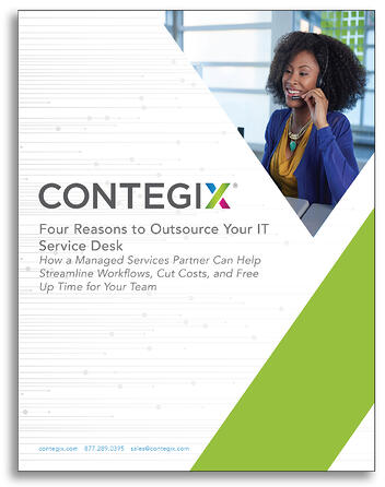 Four Reasons to Outsource Your IT Service Desk - Cover Image